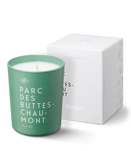 Bougie parfumée Parc des buttes Chaumont - Kerzon