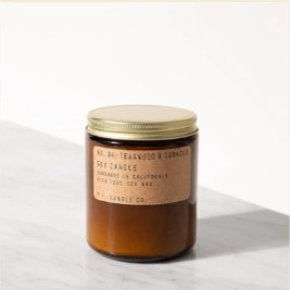 Bougie Teakwood and Tobacco - PF CANDLE