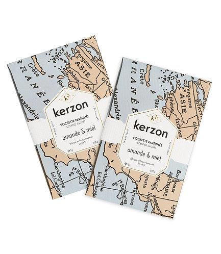 Pochettes parfumées amande & miel - Kerzon