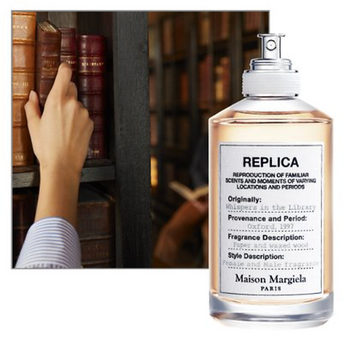 Whispers In The Library -MAISON MARGIELA