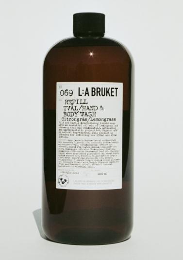 Recharge Gel Douche Citron - L:A BRUKET