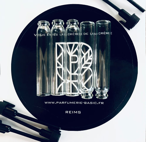 La box d'échantillons parfum à personnaliser - BASIC