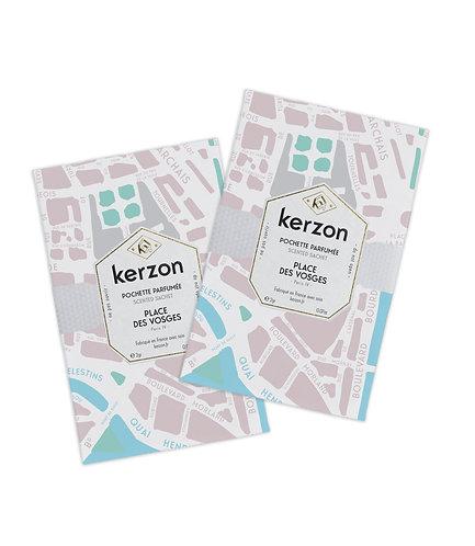Pochettes parfumées Place des Vosges - Kerzon
