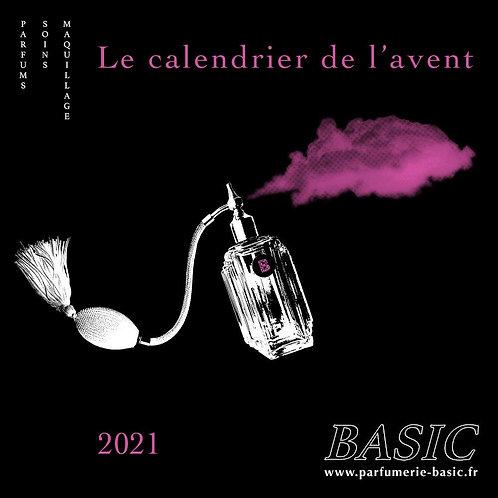 LE CALENDRIER DE L'AVENT 2021 - parfumerie BASIC