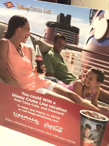 Hollis Family Disney Coke Advertisement