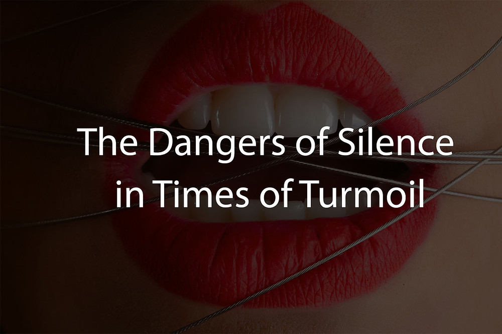 dangers of silence in a communications strategy