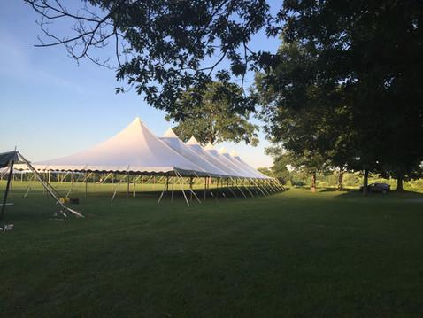 40'x140' Pole Tent