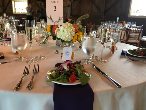 Table Setting (Quonquont Farm)