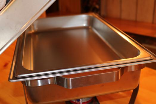 Chafer Dish Inside