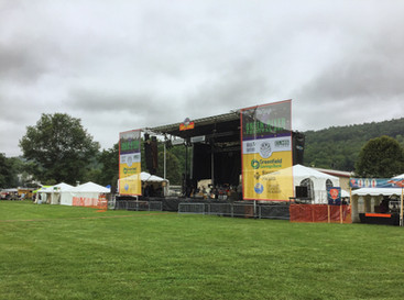 Frame Tents (Green River Festival)