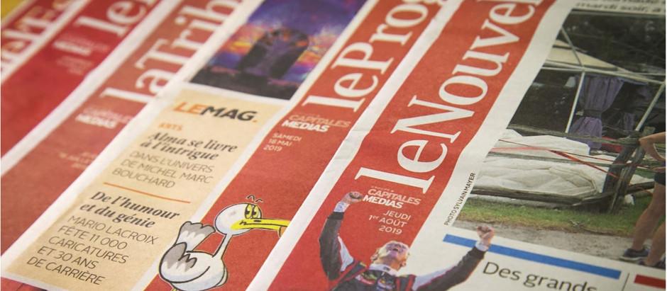 De bonnes chances de survie pour les journaux du Groupe Capitales Médias