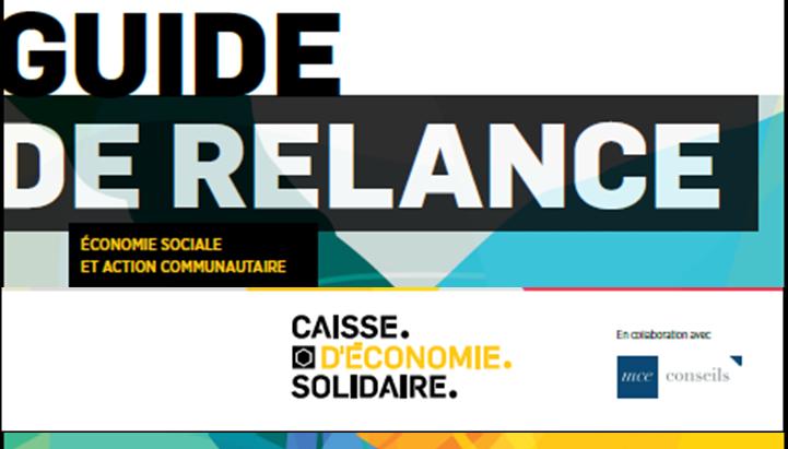 Le Guide de relance solidaire