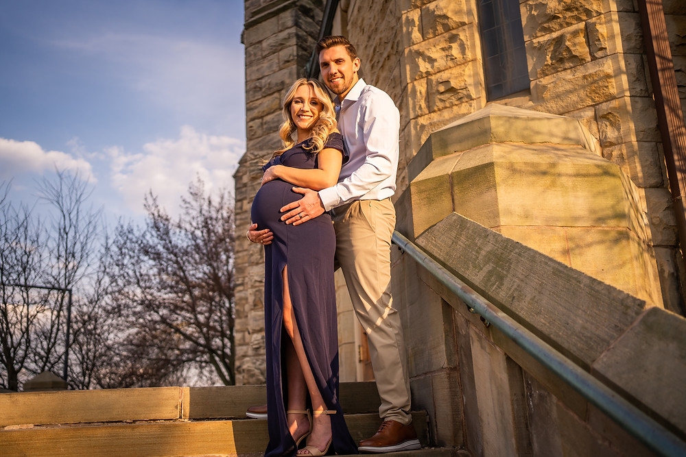 Akron Medina Family Maternity Newborn Photographer