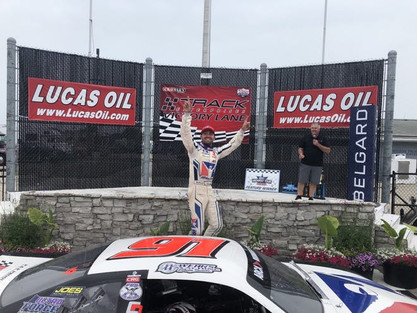Ty Majeski is used to winning on the ARCA Midwest Tour. But he's finally done it at the mile