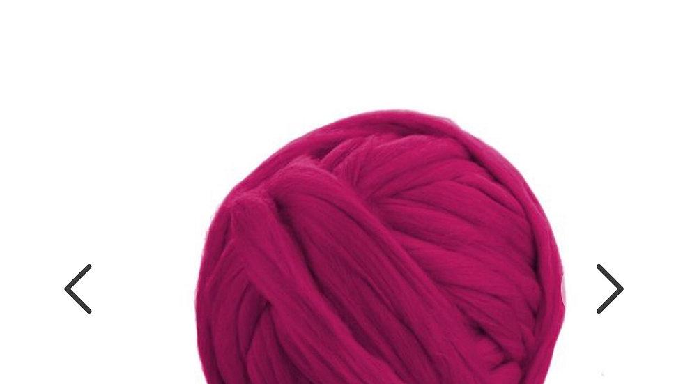 Pink merino blankets