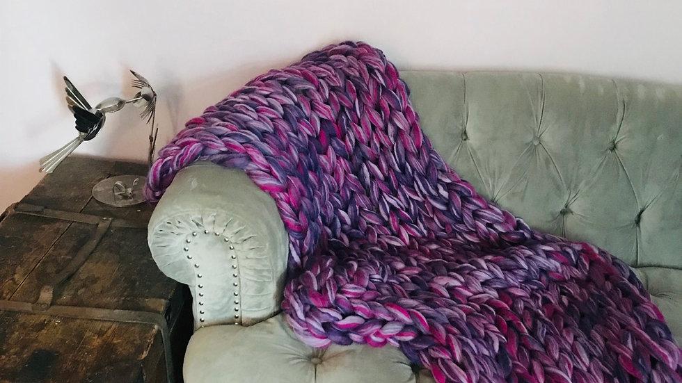 'Heavenly' merino blanket