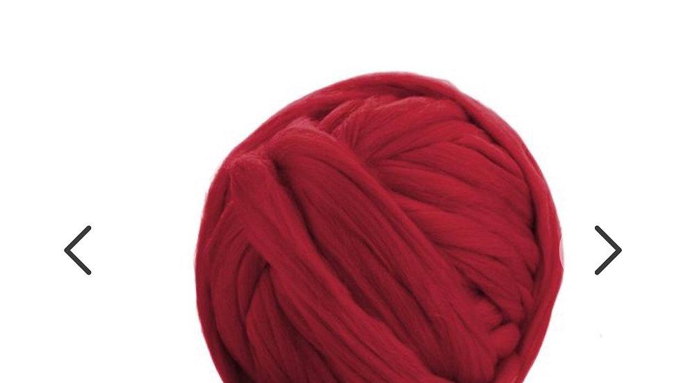 Red merino blankets