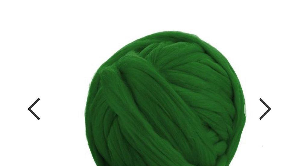 Green merino blankets