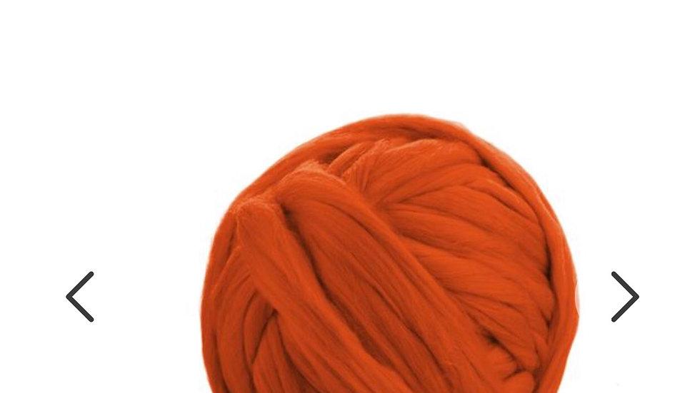 Orange merino blankets