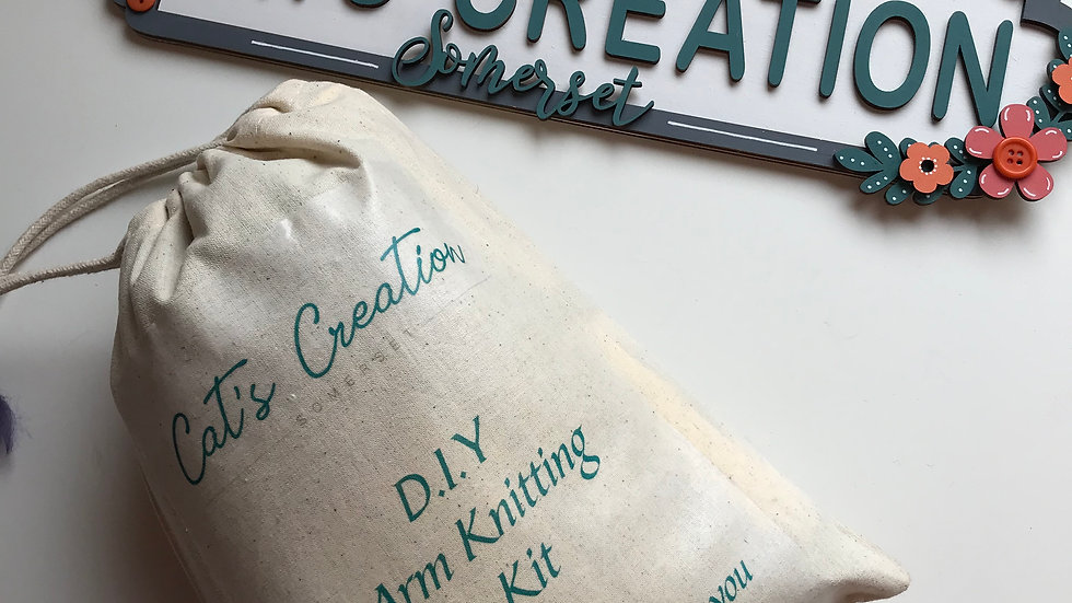 DIY arm knitting kit