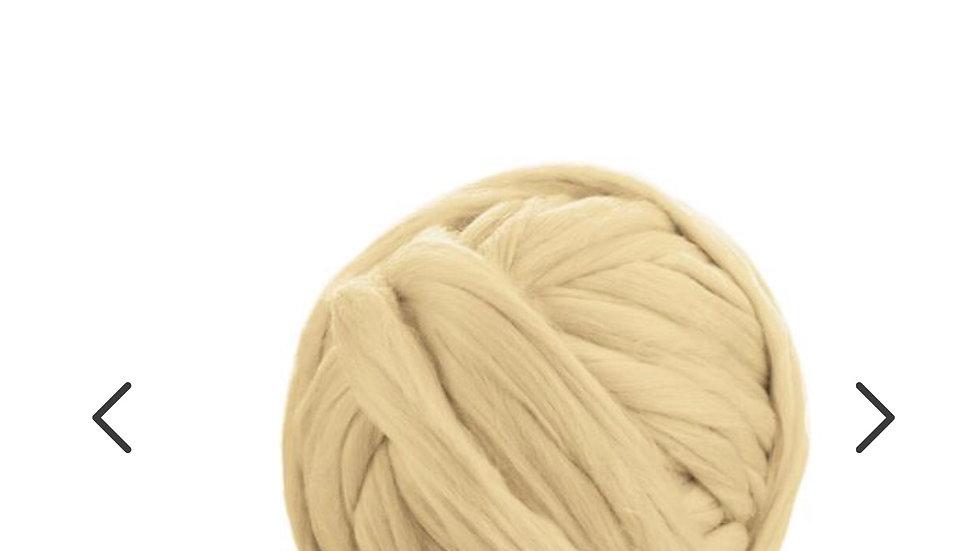 White/cream merino blankets