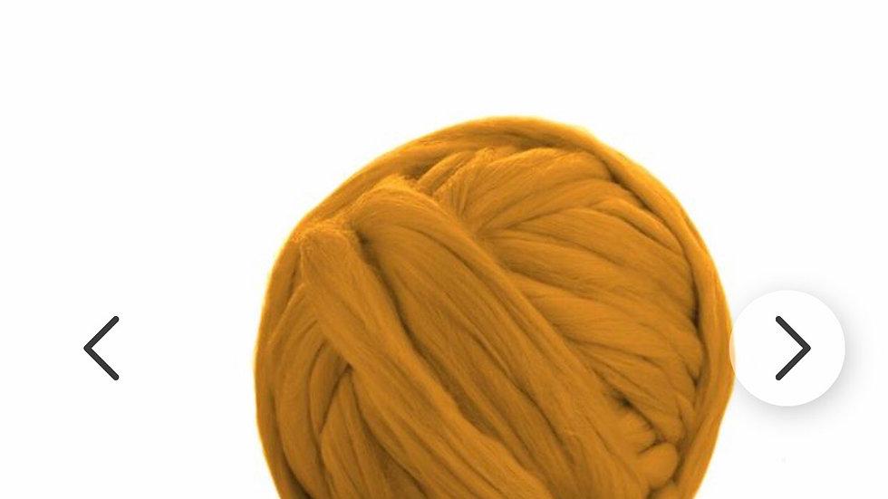 Yellow/mustard/gold merino blankets