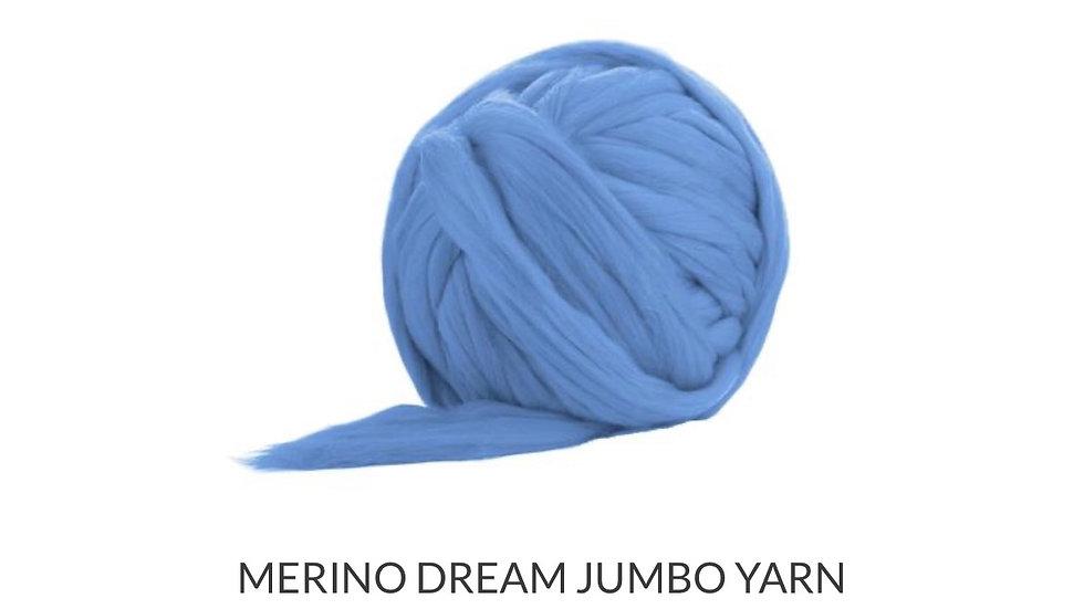 Light blue merino blankets