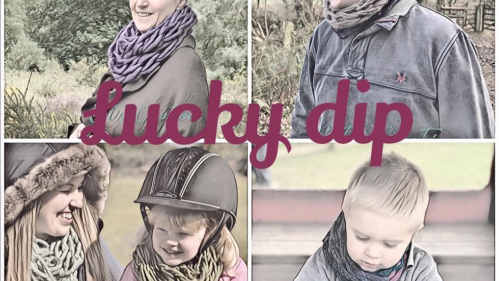 Lucky dip diy arm knitting kit