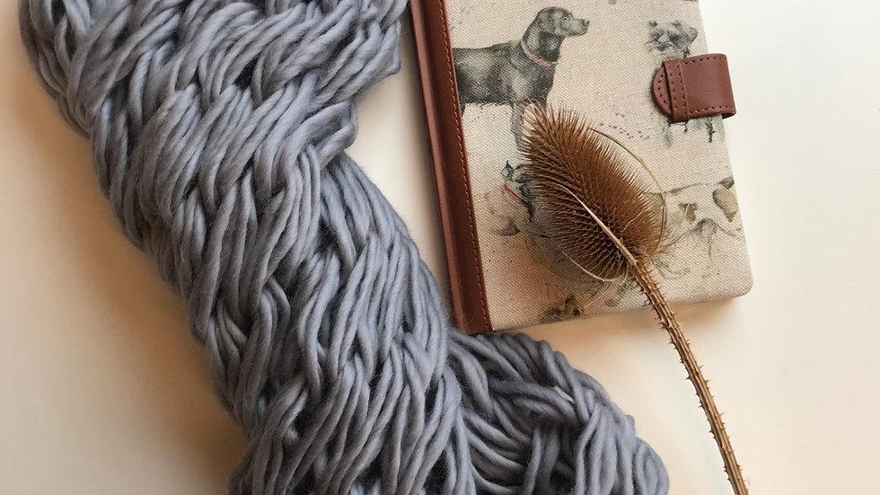 Merino wool double snood