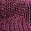 Thumbnail: Corriedale damson lap blanket