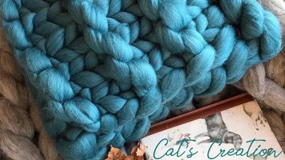 Merino wool cushion