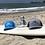 Thumbnail:  Mutts Adjustable SnapBack Trucker Hat-Richardsons Style 112  Heather Grey/Black