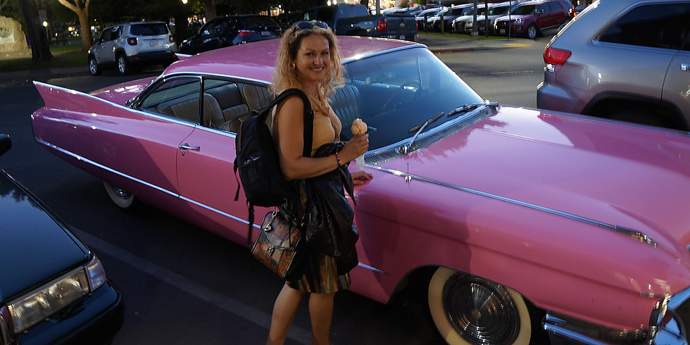 Sunsets & Classic Cars Night Out Art Class 5:30pm-7:30pm