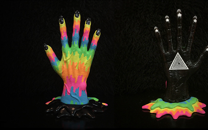 Rainbow Demon Hand
