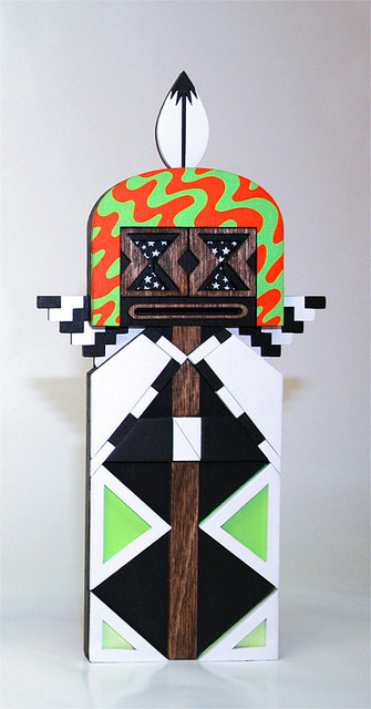 "Fractal Kachina ""Hocus-Pocus"" One-Off"