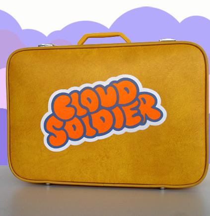 Cloud Soldier Suitcase