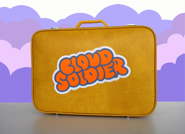 Cloud Soldier Suitcase