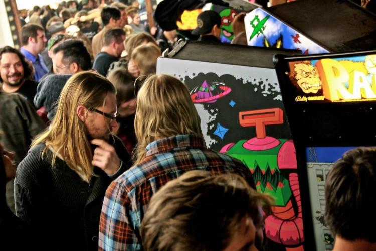 Robotron Arcade Design