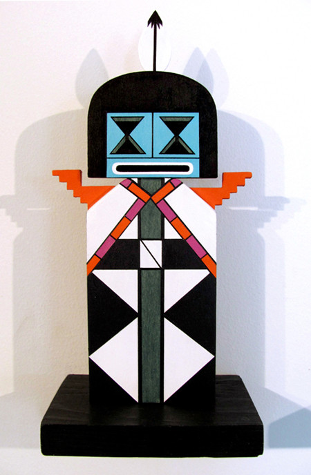 Fractal Kachina 1 - Solid Series