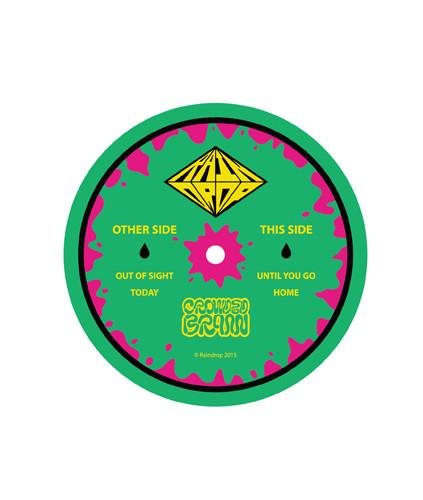 "Raindrop 7"" Record Label"