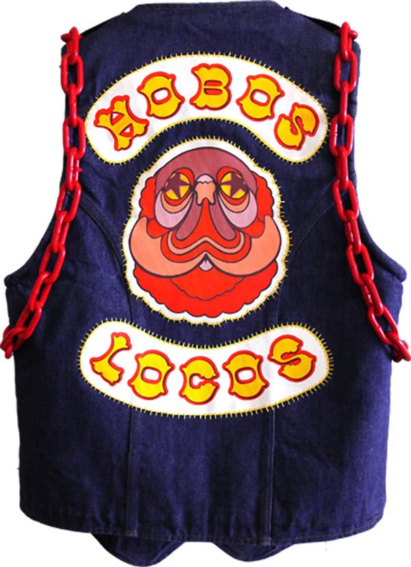 Hobos Locos Motorcycle Vest