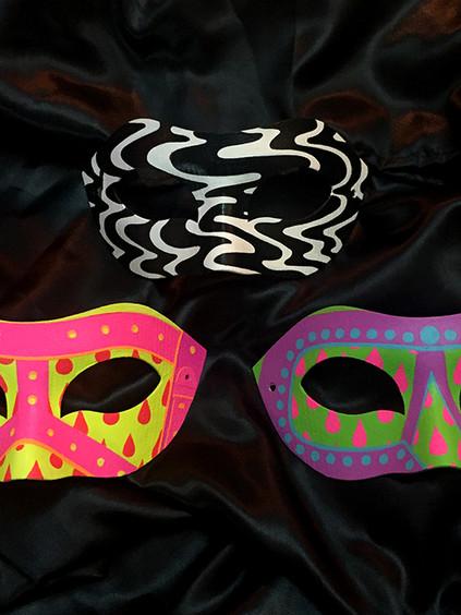 Menage A Trois Masks