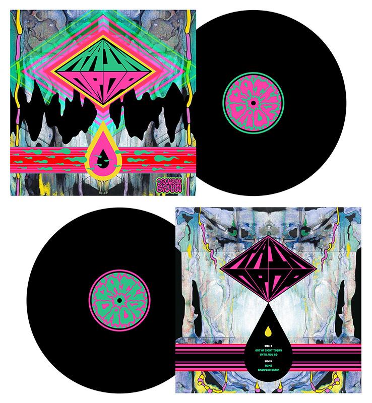 Raindrop Album Record Design