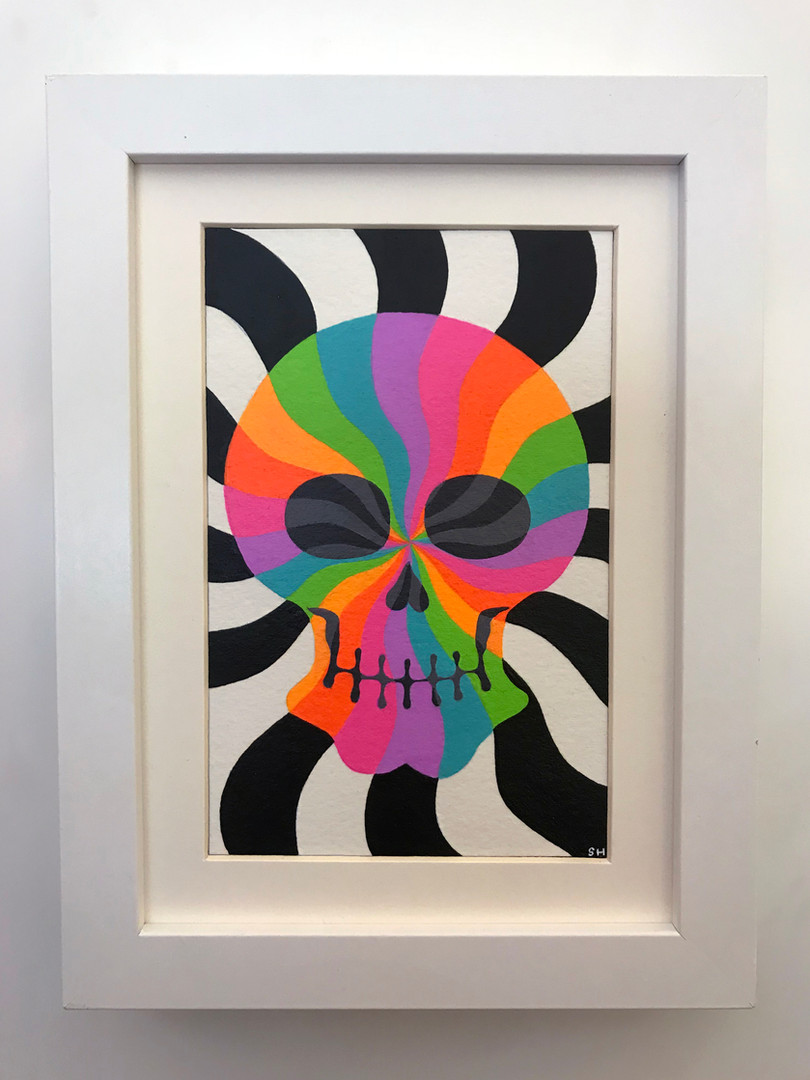 """Pinwheel Shadow Skull"""