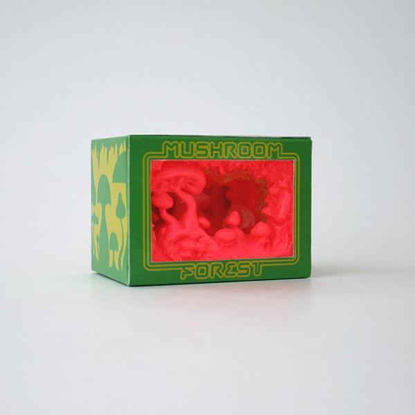 Mushroom Forest Diorama - Watermelon Series