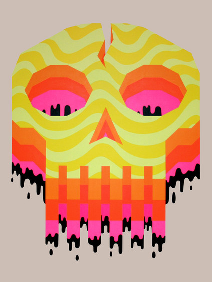 """""""Occulto Skull 3"""""""