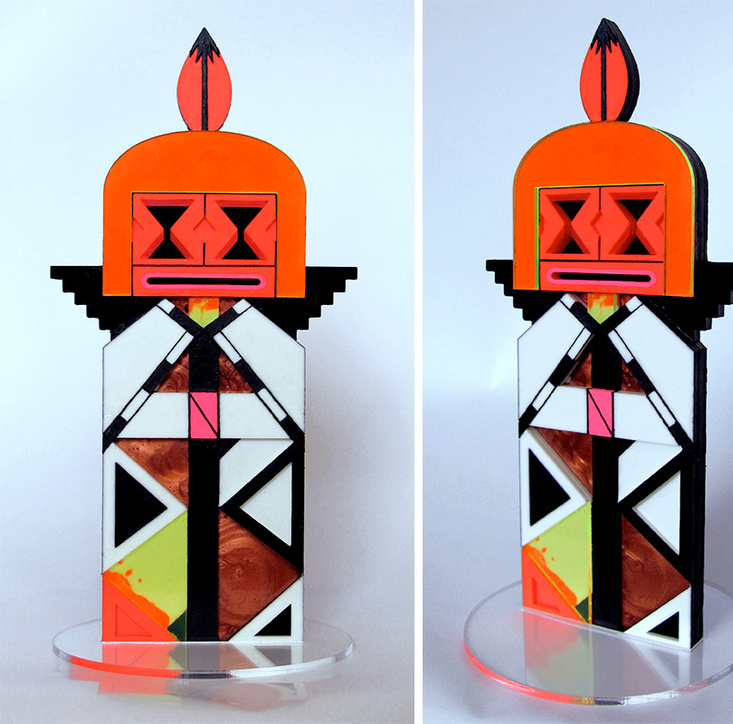 "Fractal Kachina ""Sands Of Time"" One-Off"