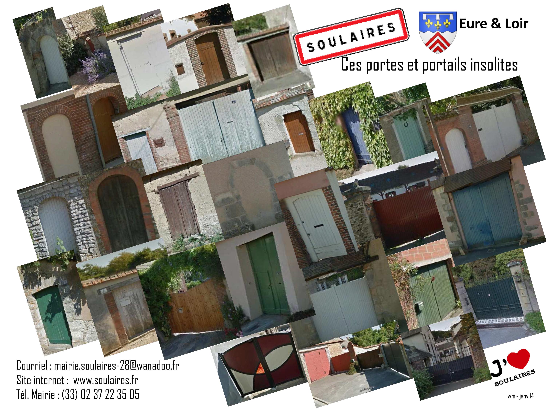Portes et portails de Soulaires 2014