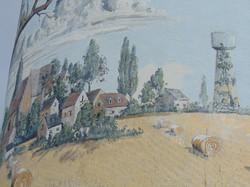 Peinture sur château d'eau(photo wm)