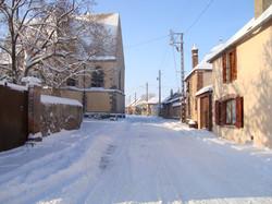 La Grande Rue  sous la neige en 2010